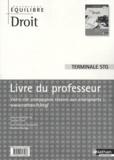 Jacques Saraf - Droit terminal STG - Livre du professeur.