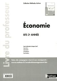 Jacques Saraf et Fanny Hervé - Economie BTS 2e année - Livre du professeur.