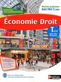 Jacques Saraf - Economie, droit, Tle bac pro tertiaire. 1 Cédérom