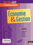 Jacques Saraf - Economie & Gestion 1re Bac Pro ASSP.