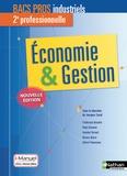 Jacques Saraf - Economie & Gestion 2de professionnelle Bac Pros industriels.