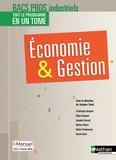 Jacques Saraf - Economie & Gestion 2e 1re Tle Bacs Pros industriels.