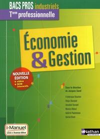Jacques Saraf - Economie & Gestion Tle Bacs pros industriels.