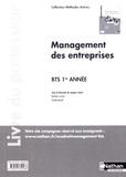 Jacques Saraf - Management des entreprises BTS 1re année Méthodes actives - Livre du professeur.