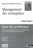 Jacques Saraf - Management des entreprises BTS 2e année - Livre du professeur.