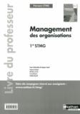 Jacques Saraf - Management des organisations 1e STMG - Livre du professeur.