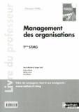 Jacques Saraf - Management des organisations Tle STMG - Livre du professeur.