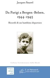Checkpointfrance.fr Da Parigi a Bergen-Belsen, 1944-1945 - Ricordi di un bambino deportato Image