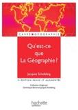 Jacques Scheibling - Qu'est-ce-que la géographie ?.