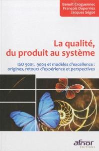 Lemememonde.fr La qualité, du produit au système - ISO 9001, 9004 et modèles d'excellence : origines, retours d'expérience et perspectives Image