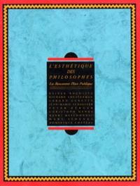 Jacques Serrano et Rainer Rochlitz - L'esthétique des philosophes.