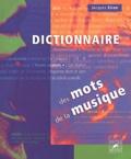 Jacques Siron et  Collectif - Dictionnaire des mots de la musique.