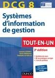 Jacques Sornet et Oona Hengoat-Hudin - DCG 8 - Systèmes d'information de gestion - 3e éd. - Tout-en-Un.