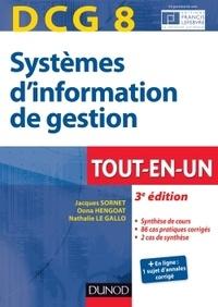 Jacques Sornet et Oona Hengoat - DCG 8 Systèmes d'information de gestion.
