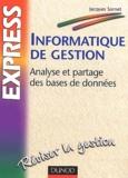 Jacques Sornet - Informatique de gestion - Analyse et partage des bases de données.