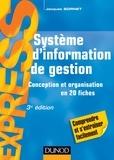 Jacques Sornet - Système d'information de gestion - Conception et organisation.