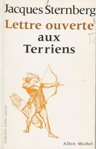 Jacques Sternberg - Lettre ouverte aux Terriens.