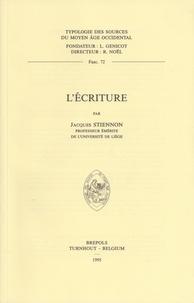 Jacques Stiennon - L'écriture.