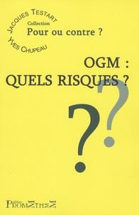 Jacques Testart - OGM : Quels risques?.