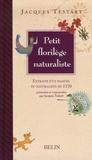 Jacques Testart - Petit florilège naturaliste.