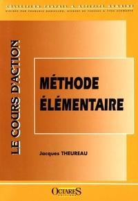 Jacques Theureau - Le cours d'action : méthode élémentaire.
