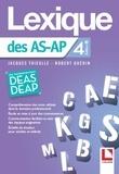 Jacques Thieulle et Robert Guérin - Lexique des AS-AP.