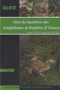 Jacques Thiriet et Jean-Pierre Vacher - Atlas de répartition des amphibiens et reptiles d'Alsace.