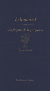 Jacques Thorel - Le homard.