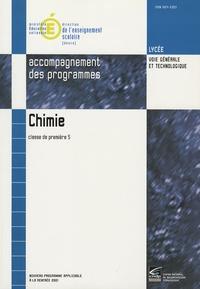 Jacques Treinier - Chimie 1e S - Accompagnement des programmes.