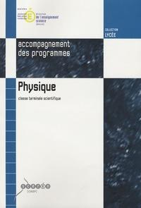 Deedr.fr Physique Tle scientifique - Accompagnement des programmes Image