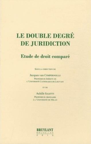 Principe Du Double Degré De Juridiction