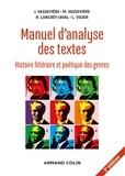 Jacques Vassevière et Maryse Vassevière - Manuel d'analyse des textes - Histoire littéraire et poétique des genres.