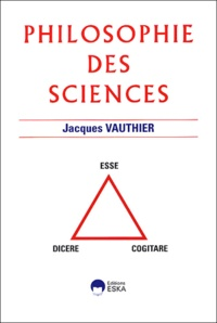 Jacques Vauthier - Philosophie des sciences.