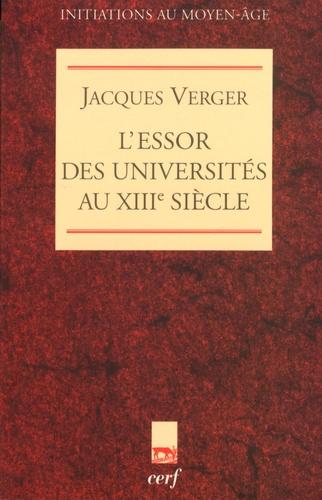L'essor des universités au XIIIe siècle
