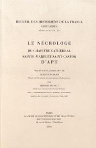 Galabria.be Le nécrologe du chapitre cathédral Sainte-Marie et Saint-Castor d'Apt Image