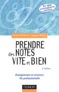 Prendre des notes vite et bien. Enseignement et concours, vie professionnelle, 2ème édition.pdf