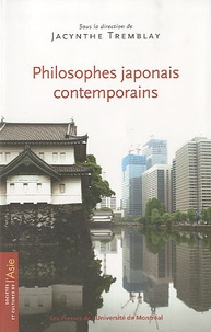 Jacynthe Tremblay - Philosophes japonais contemporains.