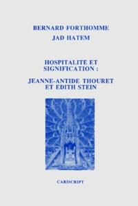 Jad Hatem et Bernard Forthomme - .