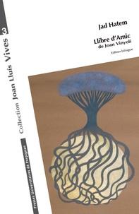Jad Hatem - Llibre d'Amic de Joan Vinyoli.