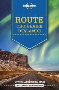 Jade Bremner et Alexis Averbuck - Route circulaire d'Islande. 1 Plan détachable