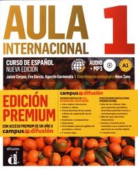 Jaime Corpas et Eva Garcia - Aula internacional 1 A1 - Libro del alumno. 1 CD audio MP3