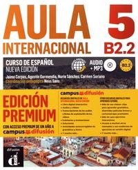 Jaime Corpas et Agustin Garmendia - Aula internacional 5 B2.2 - Libro del alumno. 1 CD audio MP3