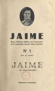 Jaime Letemple et Eliézer Fournier - Jaime.