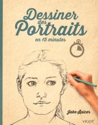 Jake Spicer - Dessiner des Portraits en 15 minutes.