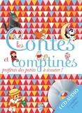 Jakob et Wilhelm Grimm et Pascal Vilcollet - Les contes et comptines préférés des petits à écouter !. 1 CD audio