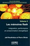 Jalil Boukhobza et Pierre Olivier - Gestion de l'énergie dans les systèmes embarqués - Volume 3, Les mémoires flash.