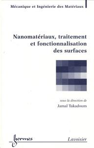 Jamal Takadoum - Nanomatériaux, traitement et fonctionnalisation des surfaces.