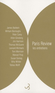 James Baldwin et William Burroughs - Paris Review - Les entretiens - Anthologie Volume 1.
