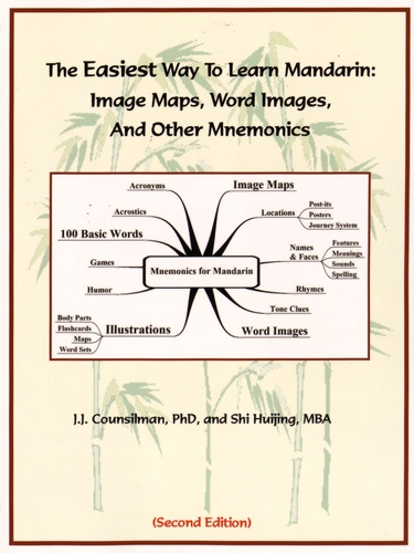 James Counsilman et Shi Huijing - The Easiest Way to Learn Mandarin - Image Maps, Word Images, and Other Mnemonics.
