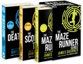 James Dashner - The Maze Runner Series - 3 volumes : Book 1, The Maze Runner ; Book 2, The Scorch Trials ; Book 3, The Death Cure.